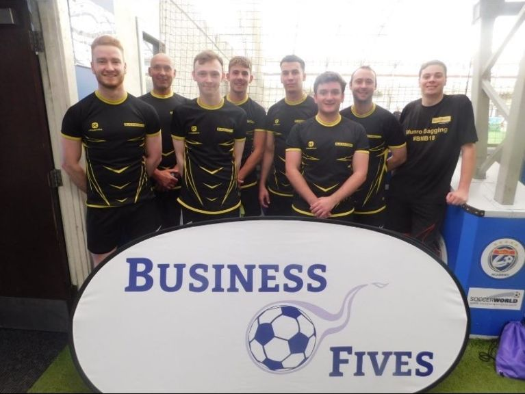 Blackadders Business Fives Team 2019