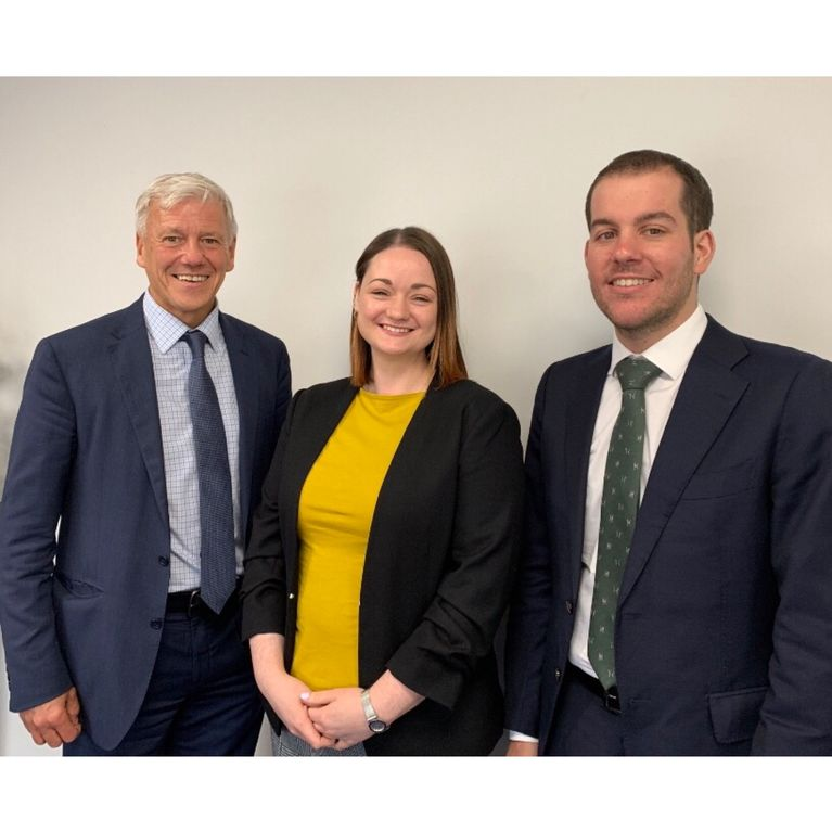 Peter Duff, Zoe Calderwood and Dario Demarco Promotions at Blackadders LLP
