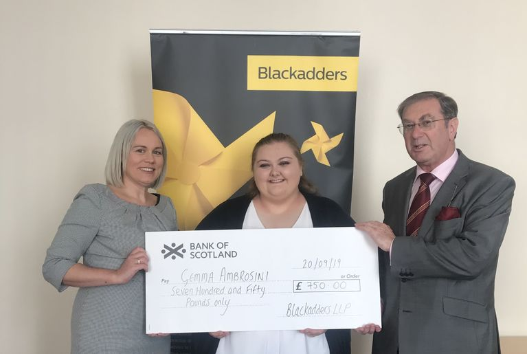 Ken Scott Bursary awarded to Dundee Law Student