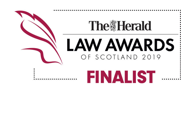 Blackadders Finalists at The Herald Law Awards 2019!