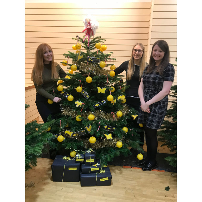 Dundee Christmas Tree Festival - Caring about Christmas Blackadders LLP