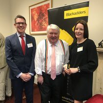 Blackadders' 'We Love Business' breakfast seminar with Brian Taylor